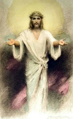 "I  asked  Jesus  Christ, ""How  much  do  you love  me ?""  and  Jesus  Christ  said,  ""This much .""  then  He  stretched  out  His  arms and  died ."