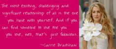 carrie bradshaw quotes - Google Search