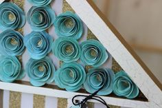 Rolled Spiral Flowers