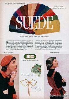 Suede to spark your wardrobe (1955)
