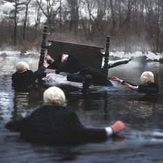 nicolas bruno river mask nightmare photo hacking photography