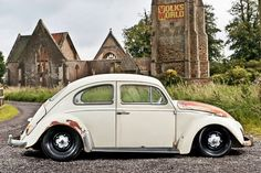 Lovely patina'd '67 Beetle