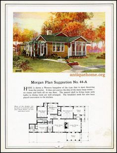 https://flic.kr/p/Jkiiuf | Morgan House Plan Suggestions::Building with Assurance | Building with Assurance - 1923 www.antiquehome.org
