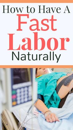 Have a fast labor! This is exactly what I did for a short labor. My birth was less than 3 hours!