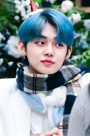 Top 15 Male Kpop Idols With Blue Hair Who Left Us Speechless In 2020 Txt Blue Hair Blue