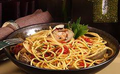 Barilla® Thick Spaghetti with Clam Sauce