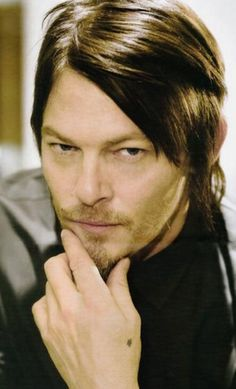Norman Reedus. Murphy MacManus (Boondock Saints) and Daryl Dixon (Walking Dead). Such an awesome bad ass :)