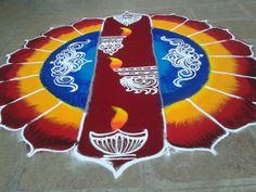 52 trendy Ideas for birthday card simple sketch Rangoli Designs Latest, Colorful Rangoli Designs, Rangoli Designs Diwali, Rangoli Designs Images, Diwali Rangoli, Latest Rangoli, Beautiful Mehndi Design, Beautiful Rangoli Designs, Henna Tattoo Designs