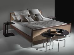 Pulut rattan double bed Piano Collection by FLEXFORM | design Asnago