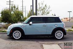 Ice blue Mini Cooper S Eisblauer Mini Cooper S Mini Cooper S, Cooper Cars, My Dream Car, Dream Cars, Bmw F 800 R, Dodge, Mc Laren, Car Goals, Muscle Cars