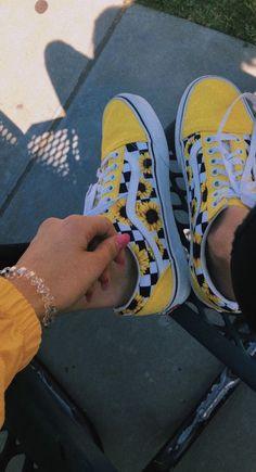 694b6466850490 Image about yellow in vans by Mako Avazashvili