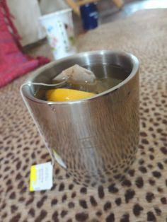Lemon tea, a la Doppio! #innnategear #itsdopeyo #tea
