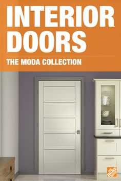 A door can conceal or reveal, add warmth to hallways, expand your visual space, and even turn an ordinary room into a sunroom. With 21 designs to choose from in the JELD-WEN MODA Collection, you can maintain the same style throughout your home while choosing the right type of finish to fit each space. Click to explore your interior door options.