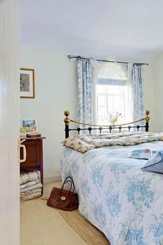 flint cottage traditional bedroom