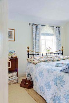 flint cottage traditional bedroom