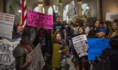 The anti-Trump resistance takes shape: 'Government's supposed to fear us'   US news   The Guardian