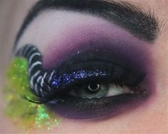 Eyeshadow inspired by Maleficent from Disney's Sleeping Beauty