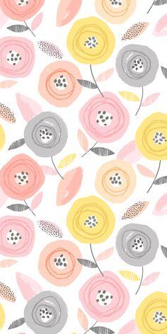wendy kendall designs – freelance surface pattern designer » sunshine floral