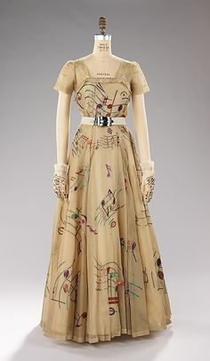 Evening Dress Elsa Schiaparelli, 1939 The Metropolitan Museum of Art