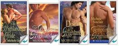 McTiernay Brothers Series by Michele Sinclair - Historical Highland Romance