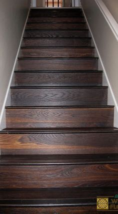 dark oak wood stairs - Google Search