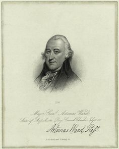 """""""Major General Artemas Ward,"""" engraved by S.A. Schoff and T. Kelley, after a painting by Raphaelle Peale, The New York Public Library Print Collection."""