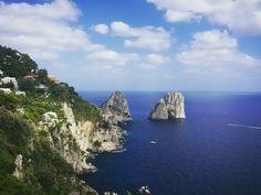 Capri - I faraglioni