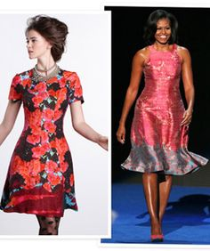 Tracy Reese Lets Us Play Dress-Up In Michelle Obama's Clothes . . . Article on how the designer is launching a line with Anthropologie so we all have an opportunity to have a flock similar to the FLOTUS.