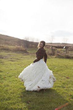 Vera + Flannel = Love it! Photography: Dani Stephenson Photography