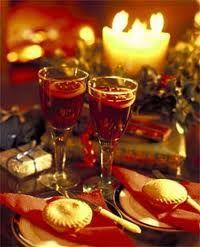 Romantic Christmas Eve drinks!