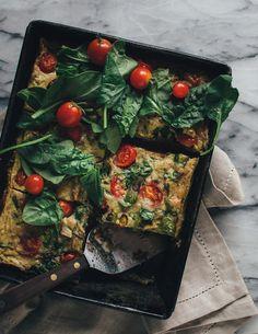california avocado egg breakfast casserole via barerootgirl.com