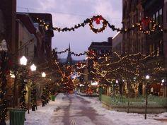 Christmas in Cumberland, Maryland