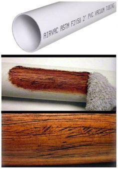 Making PVC Look Like Wood