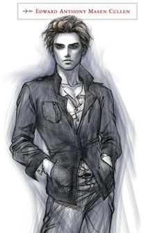 Edward Cullen The Twilight Saga Official Illustrated Guide