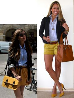 Cute transitional Fall outfit. Really loving mustard right now...(the color, and well, the condiment too, i s'pose...)