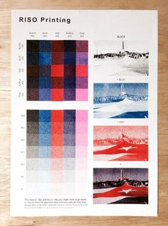 risograph printing - workflowstudio