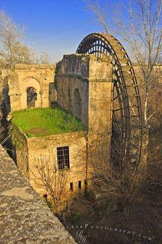 Waterwheel Molino de la Albolafia Cordoba, Spain / España