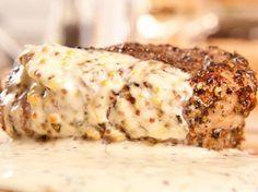 Filet mignon de porc a la moutarde - Recette de cuisine Marmiton : une recette