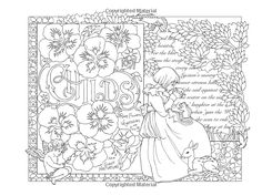 Colouring Pages, Adult Coloring Pages, Coloring Books, Colorful Pictures, Collage Art, Tapestry, 3d, Free Coloring Pages, Spring