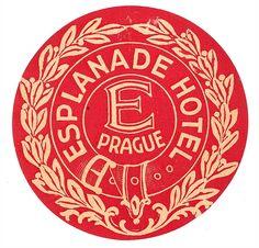 Vintage Luggage Label