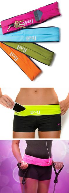 FlipBelt - holds all your essentials while you work out.