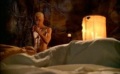 James Marsters as Spike in Buffy the Vampire Slayer  'Gone' (SE06E11)  He should just never wear clothing.