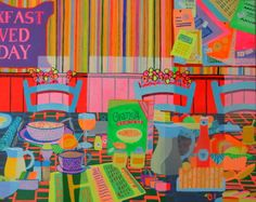 """""""ALL HAPPINESS DEPENDS ON A LEISURELY BREAKFAST"""". 31.5 – 39.4 inch (80 – 100 cm) 