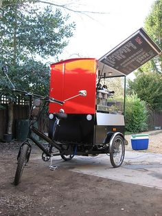 Caffe Mobile Coffee Trike by mr_pel, via Flickr