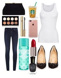 """Untitled #10431"" by ohnadine on Polyvore featuring American Vintage, Belkin, 7 For All Mankind, Christian Louboutin, Urban Decay, NYX, Deborah Lippmann and Dolce&Gabbana"