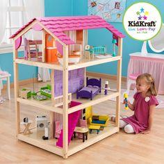 Casa de muñecas so chic | KIDKRAFT | Juguete EurekaKids                                                                                                                                                                                 Más