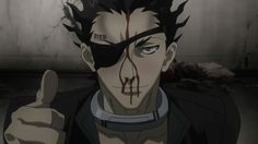Senji Kiyomasa from Deadman Wonderland, Thumbs up Anime Girl Drawings, Deadman Wonderland, Ghibli Movies, Black Butler Kuroshitsuji, Blue Exorcist, Dead Man, Manga, Me Me Me Anime, Tokyo Ghoul