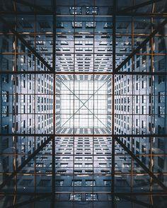 Warning: May be vertigo inducing. If you stare long enough, the symmetry will suck you in. Shared via @Trashhand
