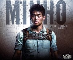 """Minho: The Keeper of the Runners."" me encanta su personaje del libro. a ver que tal es el de la película."