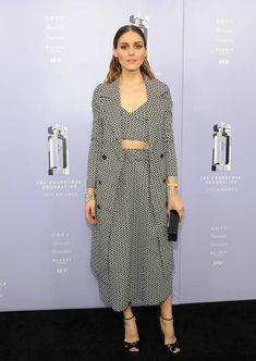 Olivia Palermo attends 2018 Fragrance Foundation Awards at Alice Tully Hall at Lincoln Center on June 12 2018 in New York City